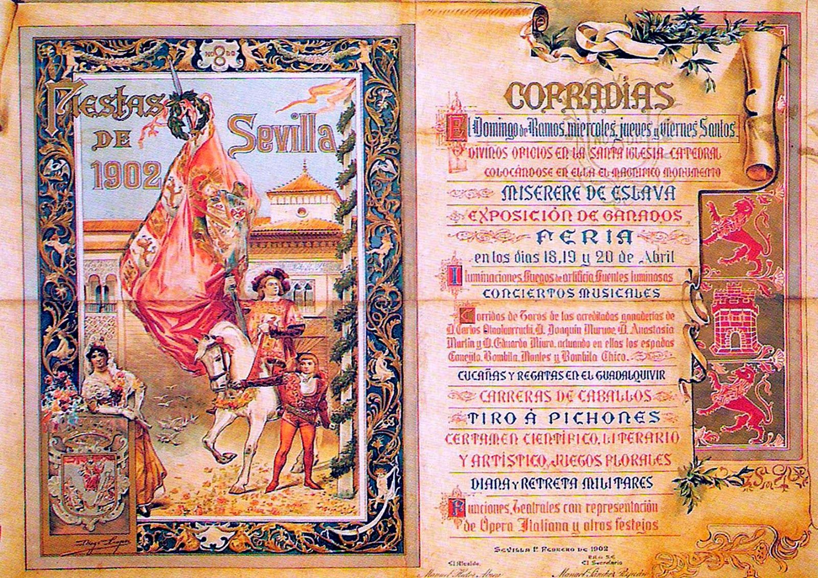 Cartel Feria de Abril