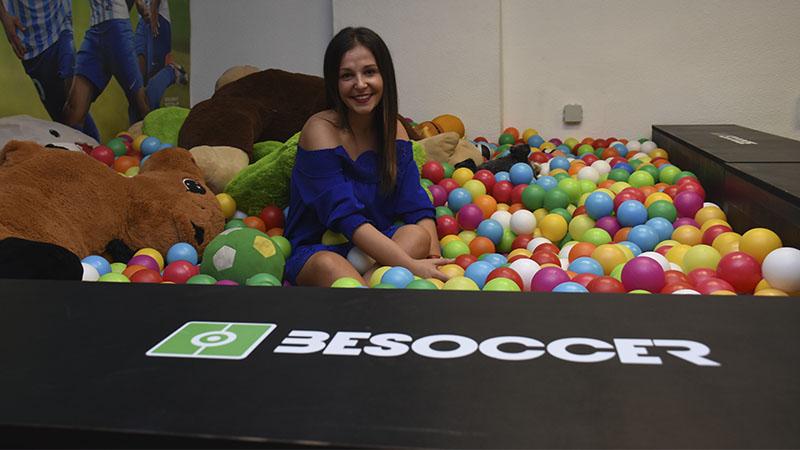 Puri Puerta community manager en BeSoccer